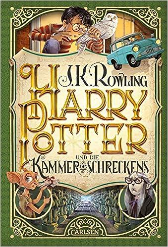Harry Potter 2 Und Die Kammer Des Schreckens Rowling J K 9783551557421 Amazon Com Books