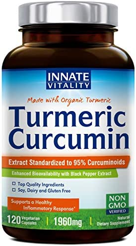 Curcumin BioPerine Standardized Curcuminoids Anti Inflammatory product image