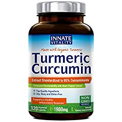 Image of the product Organic Tumeric Curcumin that is listed on the catalogue brand of Innate Vitality.