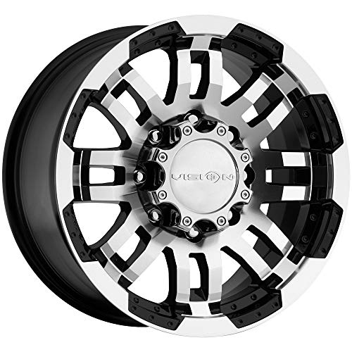 - Vision Warrior 375 Gloss Black Machined Face Wheel (17x8.5