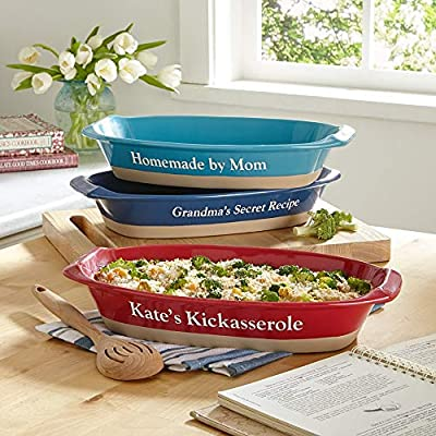 Personal Creations - Personalized Gifts Ceramic Casserole Baking Dish