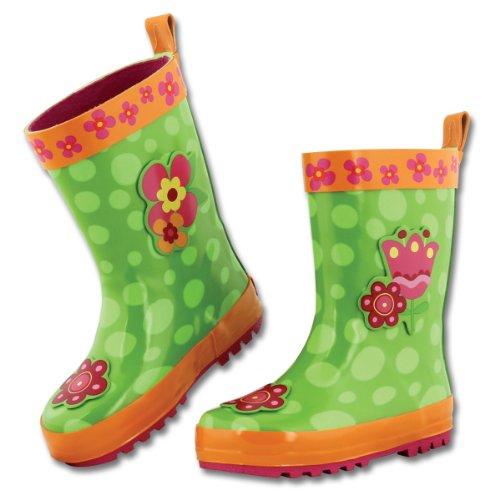 Girls' Stephen Joseph Butterfly Big Rain Boots Flower aaEx6wT