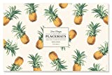 Faux Designs Paper Placemats - Pineapple