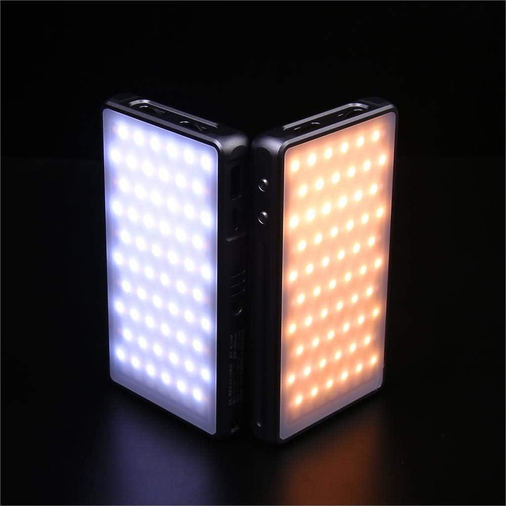 2500K-8500K RGB Full Color Fill Light PL-190R Photography LED Light 5000mah on-Camera Video Light