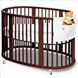 Used Stokke Sleepi Crib (Bed) Walnut Finish