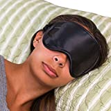 Super Silky Super-Soft Sleep Mask With Free Ear Plugs and Carry Case By 40 Winks. This Premium Quality Eye Mask is Ultra Lightweight & Comfortable - Has An Adjustable Strap to Fit All Head Sizes - Sleep Anywhere Anytime - Ideal for Men, Women and Children - Perfect for Travelers - Sleep Satisfaction Guaranteed