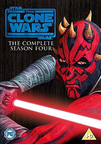 Star Wars: The Clone Wars: Season 4 [DVD] [2012] (Star Wars Clone Wars Season 4)