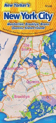 map of manhattan and brooklyn New Yorker S New York City Map Manhattan Brooklyn Bronx Queens map of manhattan and brooklyn
