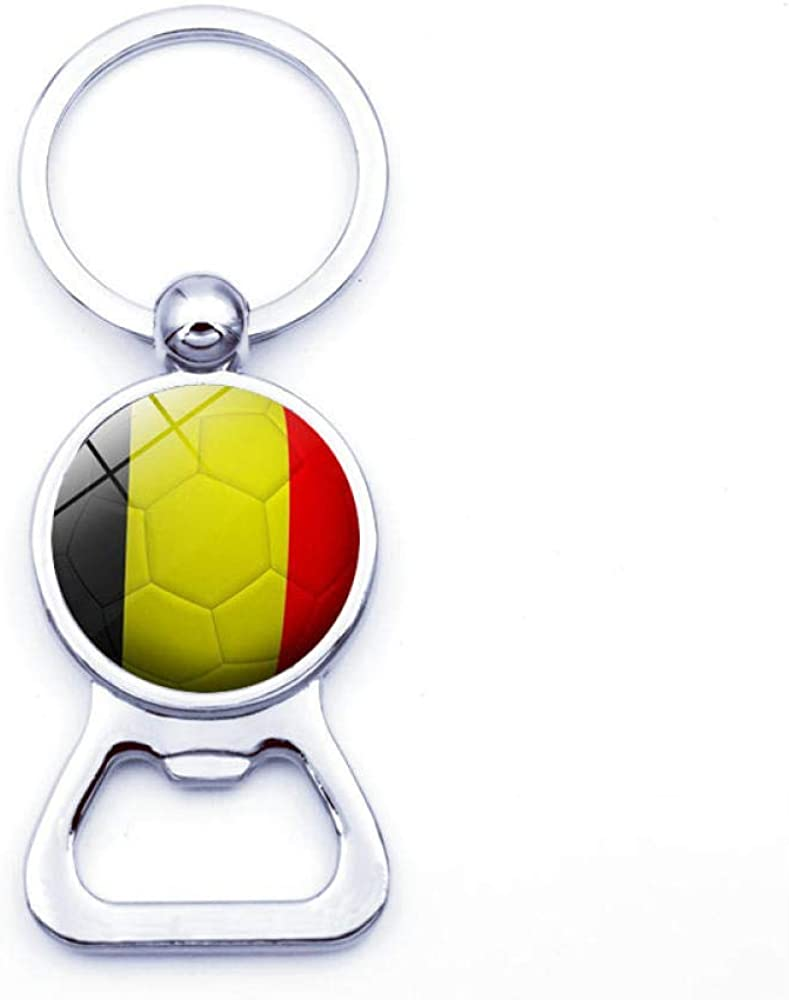xinxin24 Fu/ßball Flaschen/öffner Sch/öne Schl/üsselanh/änger Metallring Schl/üsselanh/änger Fu/ßball Fan Fu/ßball Schl/üsselhalter