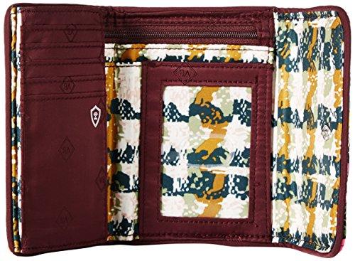 Signature Riley Cotton Compact Vera Rfid Leaves Autumn Bradley Wallet qPHXAg