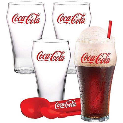 Coca Cola Ice Cream Float Set 9 Piece