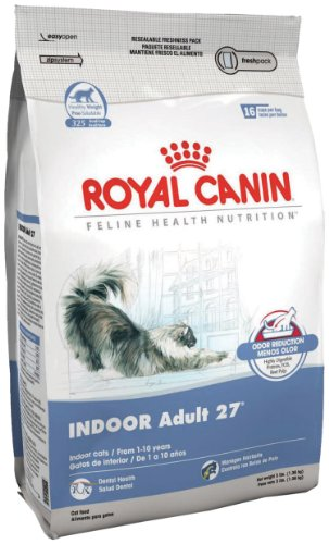 Royal Canin Dry Cat Food, Indoor Cat 27 Formula, 3-Pound Bag, My Pet Supplies