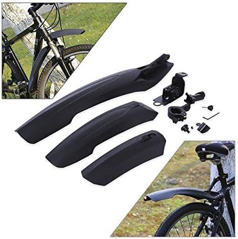 MTB Mountain Bike Bicycle Mudguard Set Front Rear Mud Guards Splash Tire Fenders