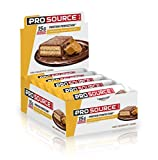 Cheap ProSource Protein Bar | 15g of Premium Protein | Hydrolyzed Whey | Delicious Gourmet Taste | NO Soy | NO Sugar Alcohols | Chocolate Peanut Butter (Pack of 12)