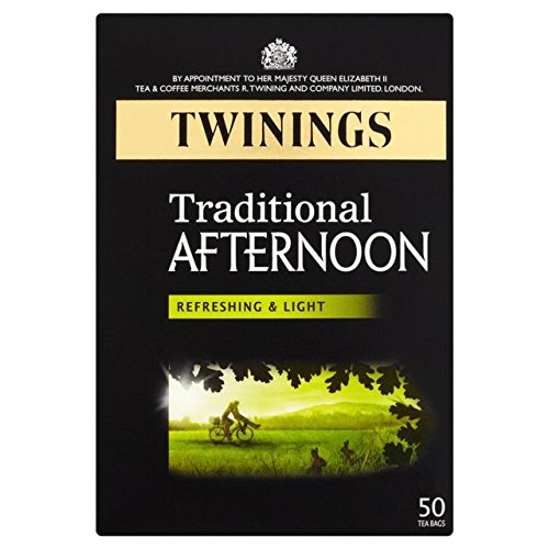 Twinings Classics Traditional Afternoon Tea / 50 Tea Bags / 100g / 3.5oz. (Tea Refreshing)