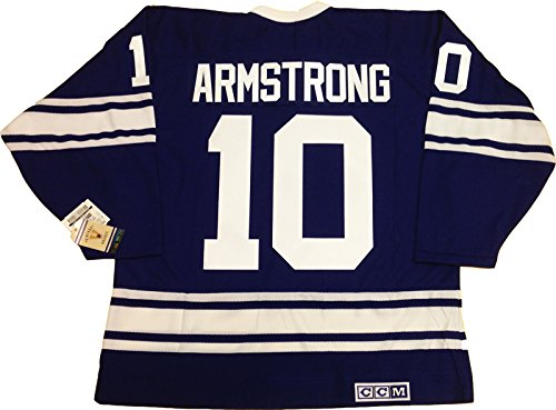 George Armstrong Toronto Maple Leafs 1967 CCM vintage jersey Reebok/CCM