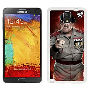 Unique Design Samsung Galaxy Note 3 Cover Case Wwe Superstars Collection Wwe 2k15 Sgt Slaughter Correct in White Samsung Galaxy Note 3 N900A N900V N900P N900T Protective Phone Case