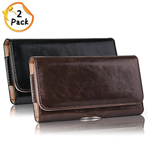 iPhone Holster Premium Leather Carrying