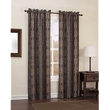 "Easy Care Fabrics 413687 Printed Thermal Foam back Window Covering/Curtain/Drape/Panel/Treatment, 40""x 95"""
