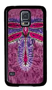 Samsung Galaxy S5 Case,Dragonfly Tie-Dye Polycarbonate Hard Case Back Cover for Samsung S5/Samsung Galaxy S5 Black