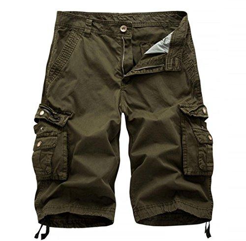 bfc2a6e922 MR. R Men's Multi-Pocket Knee Length Cargo Shorts | Weshop Vietnam