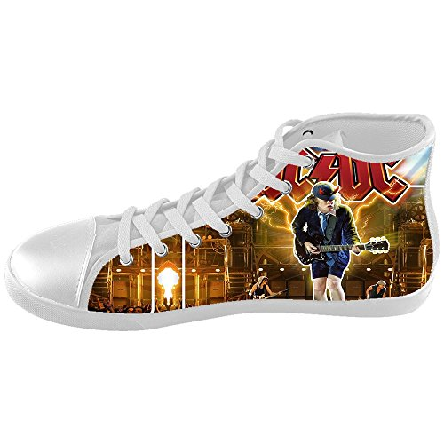 DONGMEN Custom Unisex ACDC High Top Kid's Canvas Shoes Girls Boys (Marilyn Monroe Costume For Kids)