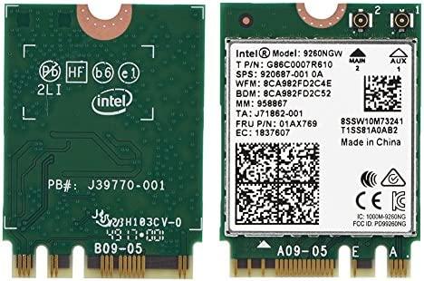 Richer-R Tarjeta Dual Band Bluetooth 5.0,Mini Tarjeta WiFi ...