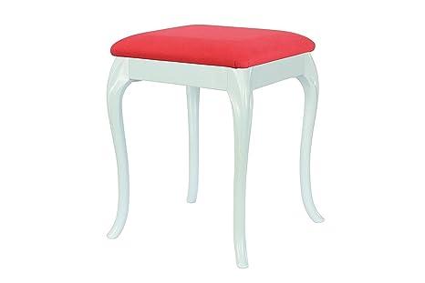 High street design blu dressing tavolo sgabello con 17 curve stile