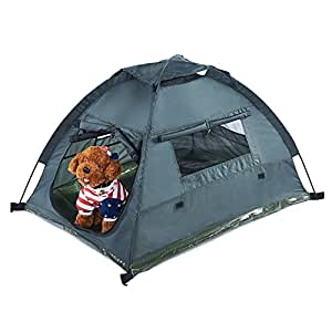 Amazon.com : Pettom Dog Cat Camping Tents, Pet Travel Bed