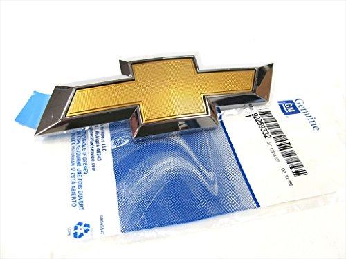 (OEM NEW Rear Bumper Trunk Lid Emblem Badge Bow Tie Gold Chevrolet SS)