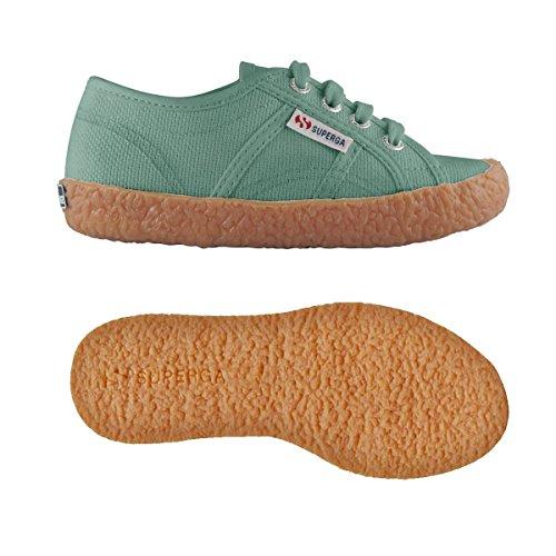 Superga 2750-Naked Cotj, Zapatos Bebé-Niñas^Bebé-Niños Green Malachite