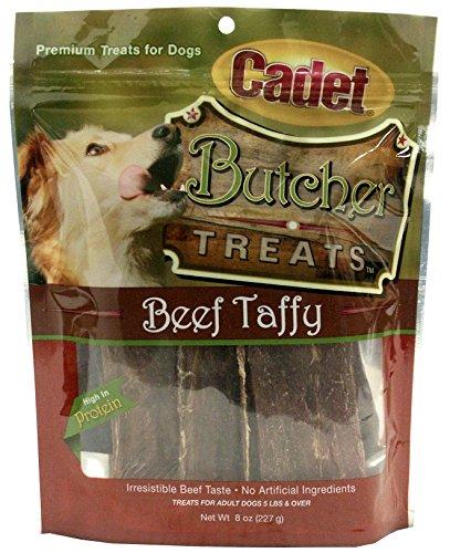 Cadet Beef Taffy Dog Treats; 8 oz.