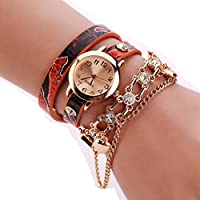 Pocciol Clearance!! 2018 Wrist Watch for Party Club Casual Watches Valentine's Day Gift Stainless Steel Watch Jewelry Set