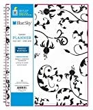 Blue Sky 2017-2018 Academic Year Weekly & Monthly Planner, Twin-Wire Bound, 5' x 8', Analeis