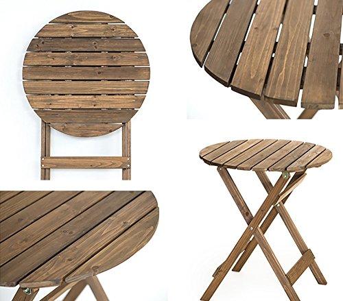 Amazon.com: MS - Juego de mesa y sillas plegables para ...