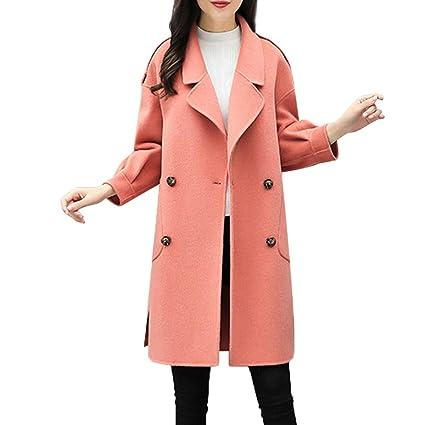 Luckycat Chaquetas Largas para Mujer De Invierno OtoñO CáLido Slim Ladies Outwear Top Cardigan Tops Blusa: Amazon.es: Ropa y accesorios
