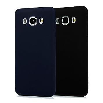 Funda Samsung Galaxy J5 2016, 2Unidades Carcasa Samsung J510 Silicona Gel, OUJD Mate Case Ultra Delgado TPU Goma Flexible Cover para Samsung Galaxy ...
