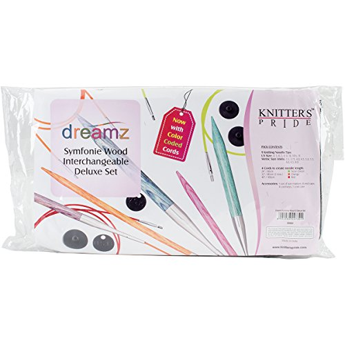 Knitter's Pride Dreamz Deluxe Interchangeable Needle Set by Knitter's Pride