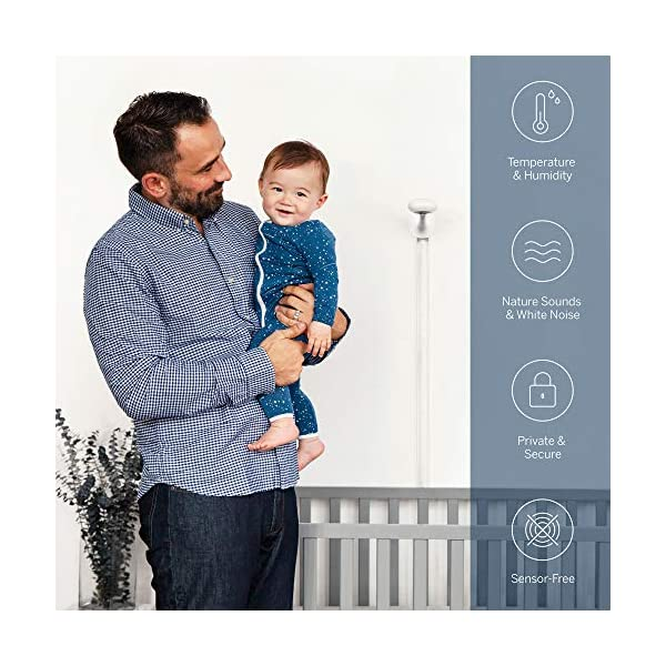 Nanit Plus - Smart Baby Monitor and Floor Stand: Camera with HD Video & Audio - Sleep Tracking - Night Vision… 5
