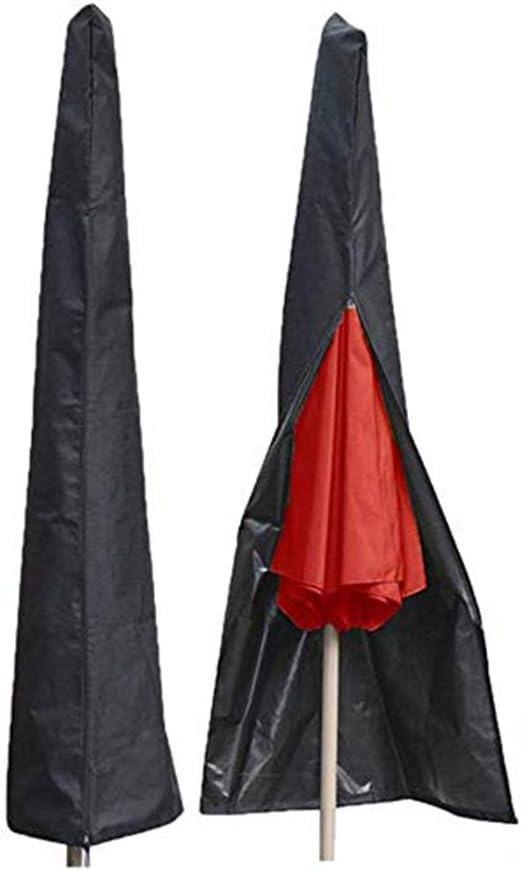 CHUER Funda Protectora para Parasol Sombrilla Excéntrico Grande Cubierta Impermeable para Parasoles Lateral de Jardín Resistente a la Intemperie Oxford 210D: Amazon.es: Jardín