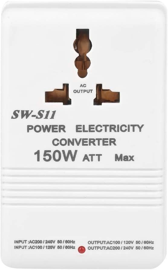 Conversor de voltaje doble de 150 W SW-S11, paso arriba y abajo, transformador de 220 V a 110 V/110 V a 220 V CN