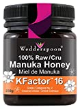 Wedderspoon Organic - 100% Raw Manuka Honey, KFactor 16, 8.8 Ounce