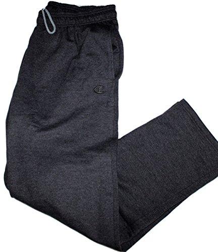 Champion Men's Sweatpants with Open Hem & Pockets (2XL, - Mall Des Plaines Outlet