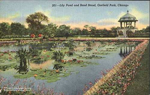 Lily Pond And Band Stand Garfield Park Chicago Illinois Il Original Vintage Postcard At Amazon S Entertainment Collectibles Store