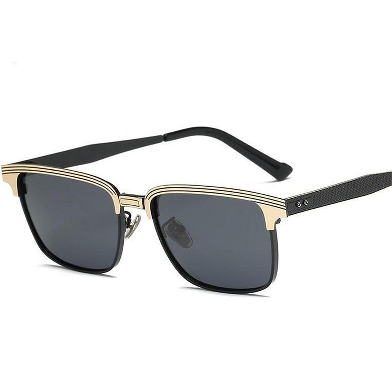 Herren polarisierte sonnenbrille,Persönlichkeit quadratischen rahmen ...