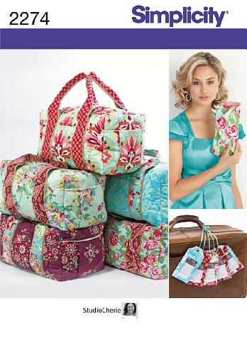 Simplicity Purse Patterns (Simplicity Sewing Pattern 2274 Bags, One Size)