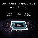 Mini PC AMD Ryzen 3 3300U   16 GB RAM 512 GB M.2
