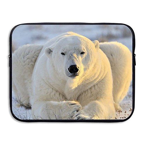 (Business Briefcase Laptop Sleeve Animals Polar Bears Case Cover Handbag For 13 Inch Macbook Air/Asus/Dell/Lenovo/Hp/Samsung/)
