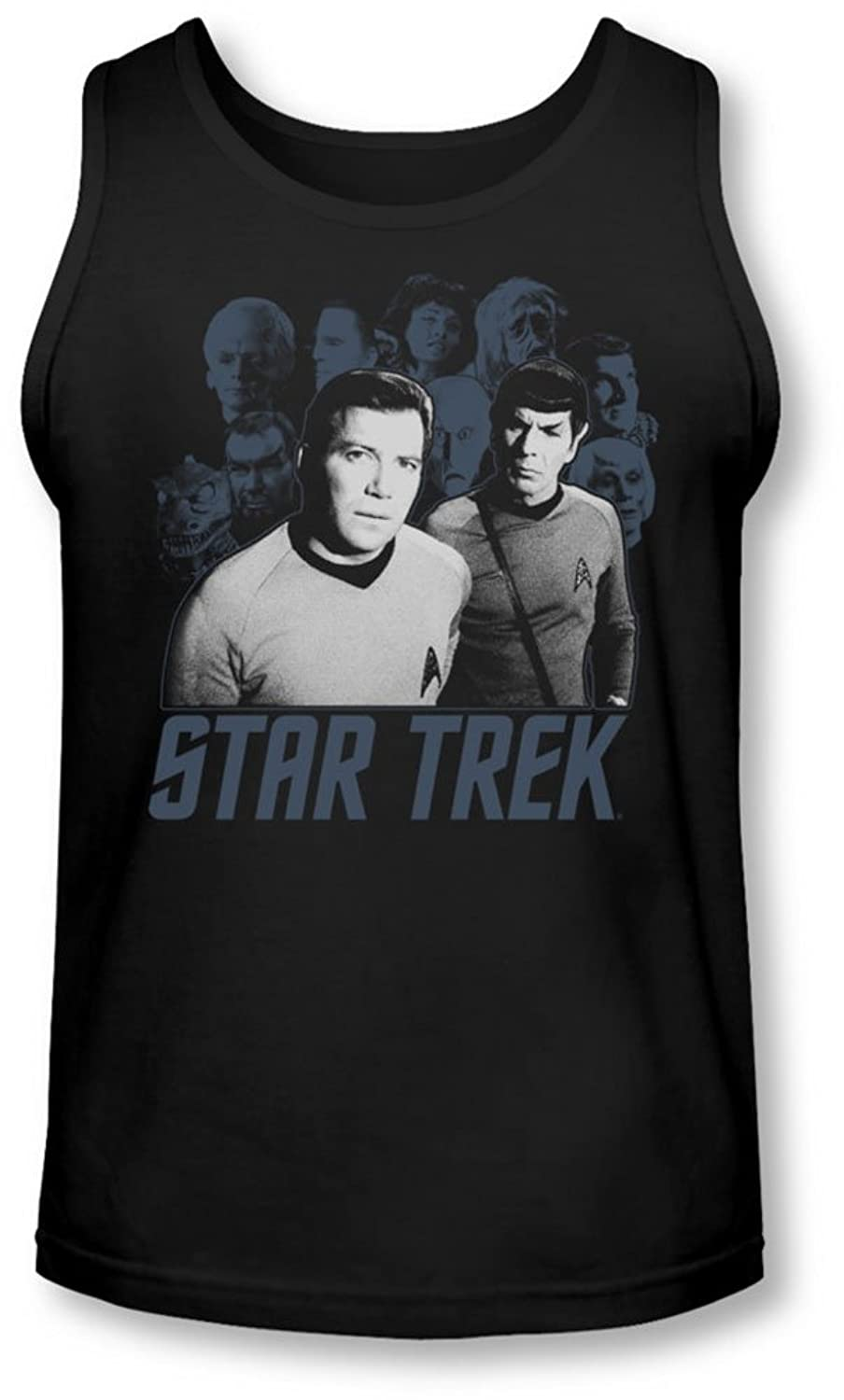 Star Trek - Mens Kirk Spock And Company Tank-Top