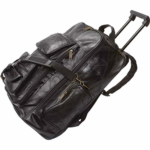 Leather Luggage Cart - 2